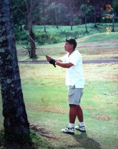 At The Canlubang Country Club in 1995.
