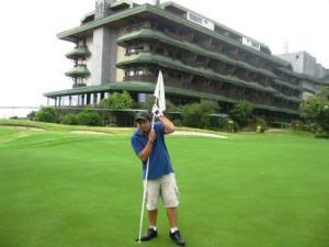 I love golf..............