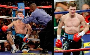 Hatton is saved by the bell, and he staggers to his corner