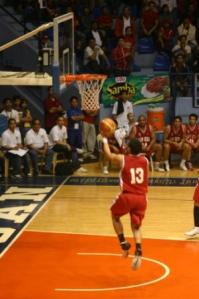 Admu had a late run, but Garvo Lanete's layup sealed the San beda win