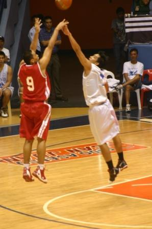 Pascual came in and gave the Red Lion's offense a boost with his jumpers.
