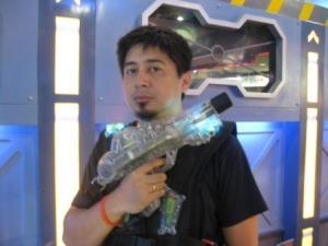 My weapon is my friend..........
