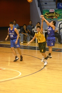 Jai goes for three against promising rookie RR Garcia