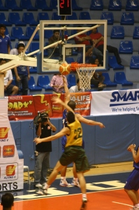 Salamat sails in for a lay-up