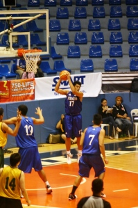 Oping Sumalinog inherited Chris Tiu's #17 jersey.