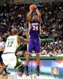 Kobe will go for ring #4.