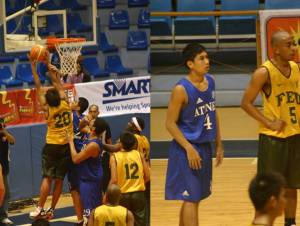 Rookies Frank Golla and Juami Tiongson had cameo appearances in this game.