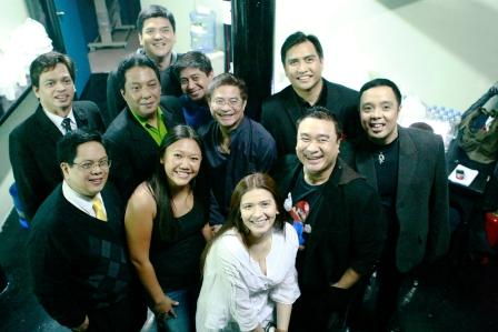 Backstage with John Lesaca and Zsazsa Padilla