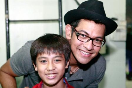 It was Coby's turn for a pic with Gary V.