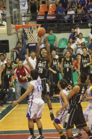 Marc Lopez and the Maroons took over in the 2nd half