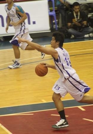 Ryan Buenafe and the eagles were pointing to the top of the league
