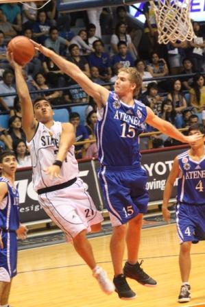 Vince Burke and the Blue Eagles stuffed the Maroons