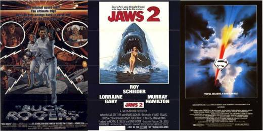 Buck Rogers, Jaws 2, Superman The Movie, were some of the movies I watched at Broadway Centrum's Eastside Or Westside Cinemas