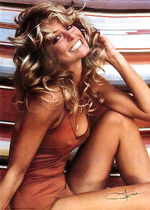 The famous Farrah poster that made her a superstar.