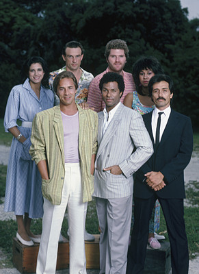 The cast of Miami Vice